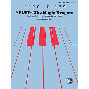 Puff (The Magic Dragon)  Easy Piano Solos