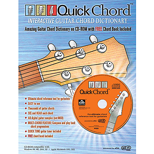 Quick Chord Interactive Guitar Chord Dictionary CD Rom
