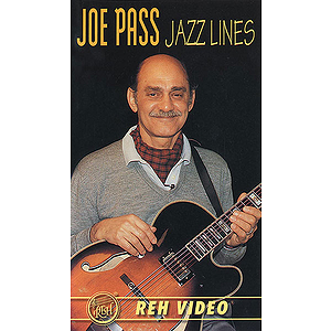Joe Pass - Jazz Lines Video (VHS)