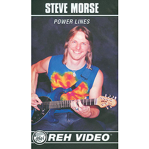 Steve Morse - Power Lines Video (VHS)