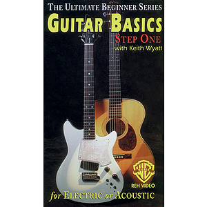 Guitar Basics Step One For Electric Or Acoustic Guitar Ultimate Beginner Series Video (VHS)