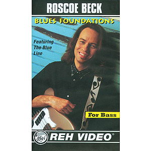 Roscoe Beck - Blues Foundations Video (VHS)