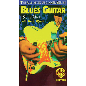 Blues Guitar Step One Ultimate Beginner Series Video (VHS)