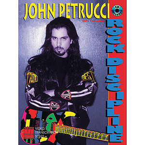 John Petrucci - Rock Discipline CD Included
