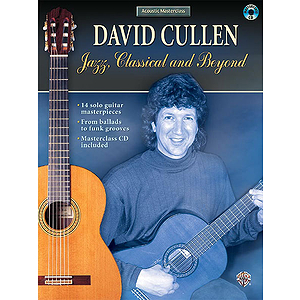 David Cullen  Jazz Classical And Beyond Book And CD
