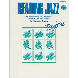 Reading Jazz Trombone Book And CD