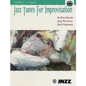 Jazz Tunes For Improvasation Volume 1 C Book And CD