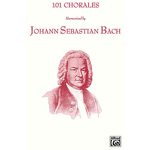 101 Chorales Harmonized By J.s. Bach (Choral Collection)satb