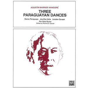 Three Paraguyan Dances Solo Gtr