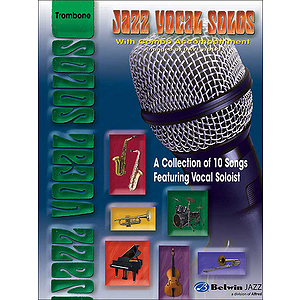 Jazz Vocal Solos With Combo Accompaniment Vocals