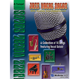 Jazz Vocal Solos With Combo Accompaniment B-Flat Trumpet