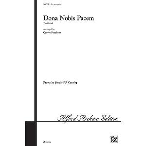 Dona Nobis Pacem 2-Pt