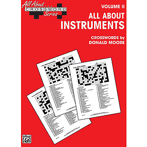 All About Crossword Series Volume II All About Instruments