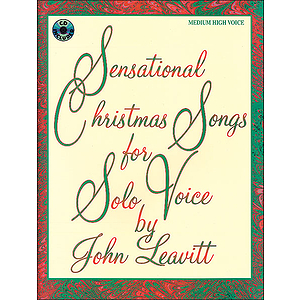 Sensational Christmas Songs For Solo Voice (Medium High)bookonly