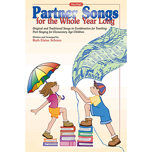 Partner Songs For The Whole Year Long Score Two-Part