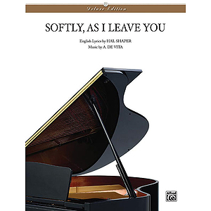 Softly As I Leave You