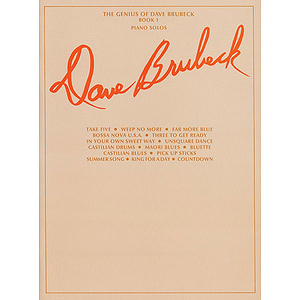 Dave Brubeck - Genius Of Dave Brubeck Book 1