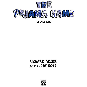 Pajama Game Vocal Selection