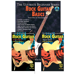 Rock Guitar Basics Megapak Book CD And Two Videos Ultimate Beginner Series (VHS)