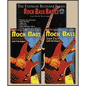 Rock Bass Basics Megapack Ultimate Beginner Series Included Book CD And Two Videos (VHS)