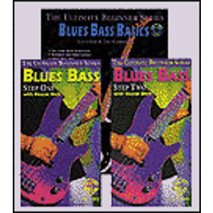 Blues Bass Basics Megapack Ultimate Beginner Series Includesbook CD And Two Videos (VHS)