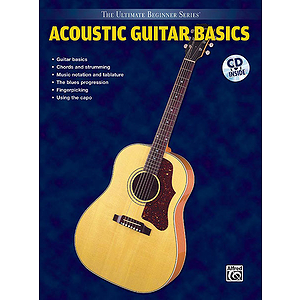 Acoustic Guitar Basis Steps One & Two Combined Ultimate Beginner Series CD Included