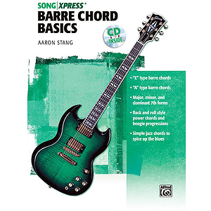 Guitar Theory Basics Barre Chord Ultimate Beginner Series CD Included
