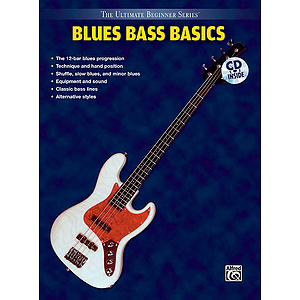 Roscoe Beck - Blues Bass Basics Steps One & Two Combined Ultimate Beginner Series CD Included