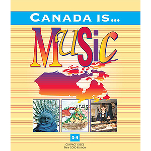 Canada Is Music Grade 3-4 Nine CD Set New 2000 Edition