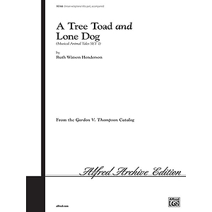 Tree Toad And Lone Dog Uni Henderson