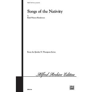 Songs Of The Nativity Treble Henderson