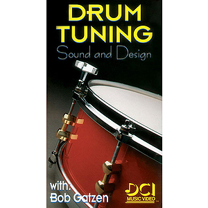 Drum Tuning: Sound And Design Video (VHS)