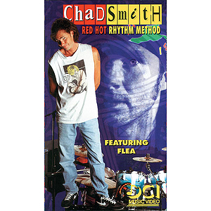 Chad Smith - Red Hot Rhythm Method Video (VHS)