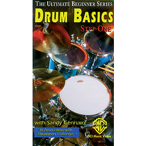 Drum Bascis Step One Ultimate Beginner Series Video (VHS)