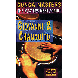 Conga Master: The Masters Meet Again! Video (VHS)