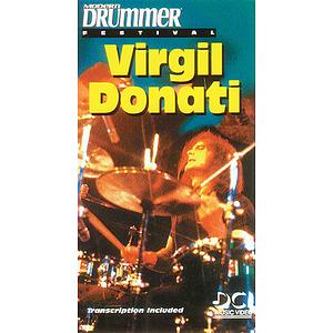 Modern Drummer Festival Virgil Donati Video (VHS)