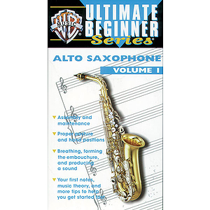 Also Sax Volume I Ultimate Beginners Series Video (VHS)