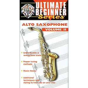 Alto Sax Volume II Ultimate Beginners Series Video (VHS)