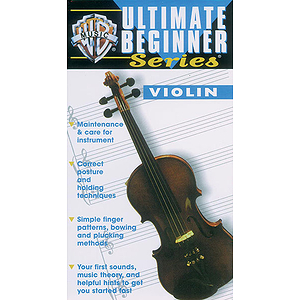 The Ultimate Beginner Series  Violin (VHS)