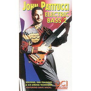 John Patitucci - Electric Bass 2: Soloing Ear-Training And Six-String Technique Video (VHS)