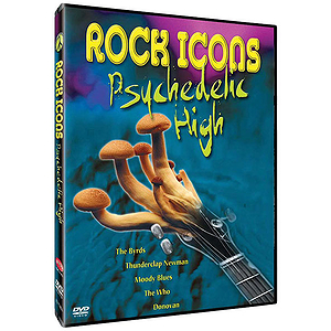 Rock Icons Psychedelic High (DVD)