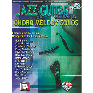 Jazz Guitar Chord Solos BK/CD