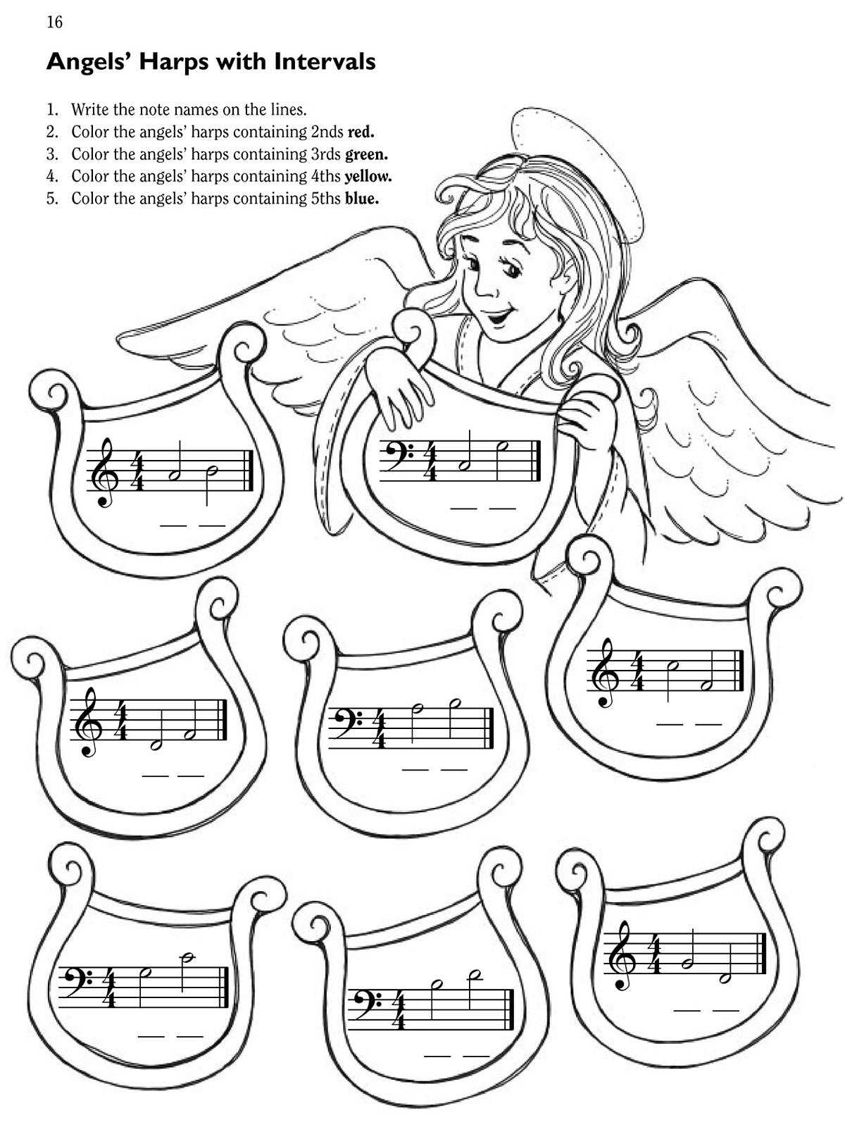 sugar plum fairies coloring pages - photo#18