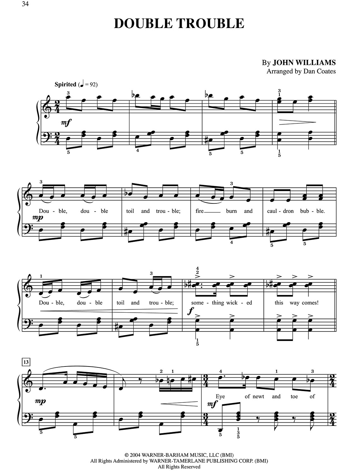 Flute Sheet Music Hedwigs Theme – images free download