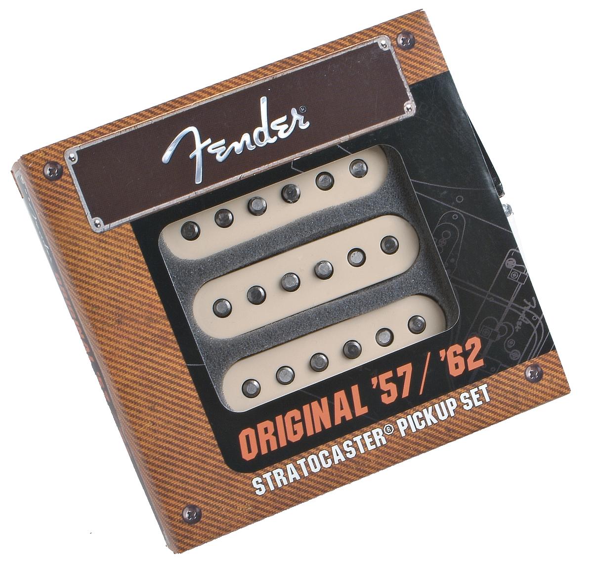 Fender® Original '57/'62 Strat Pickups - Set of 3 | 099-2117-000