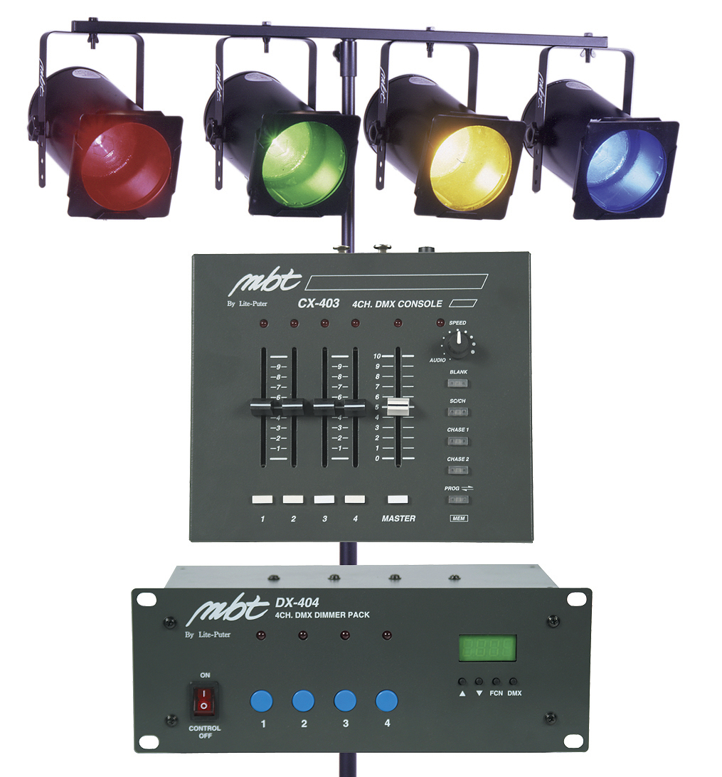 MBT Lighting DJ403 Mobile DJ Lighting System | ActiveMusician