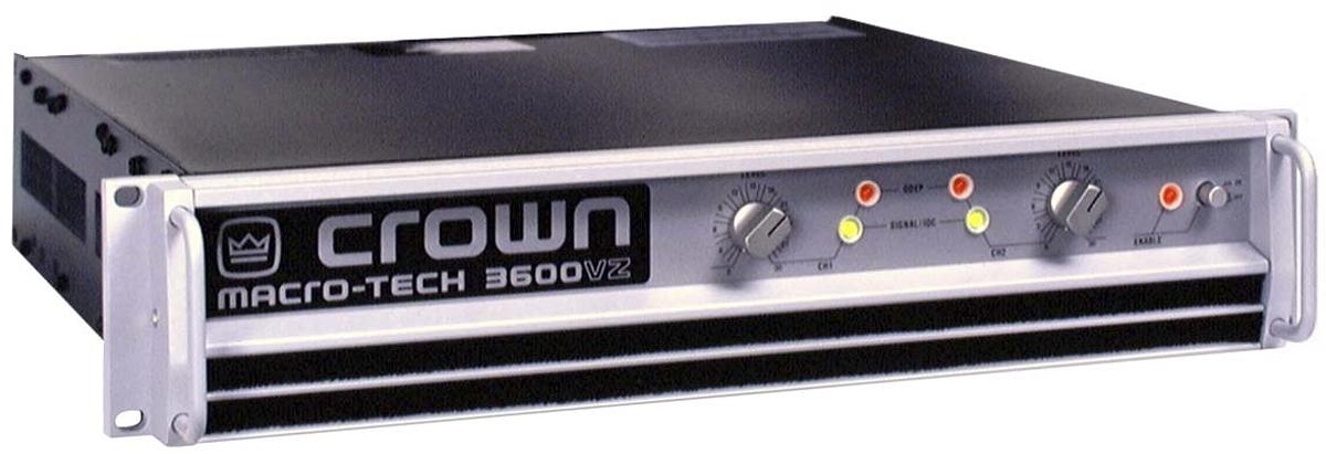 Crown DriveCore XLS15Power Amplifier: Musical