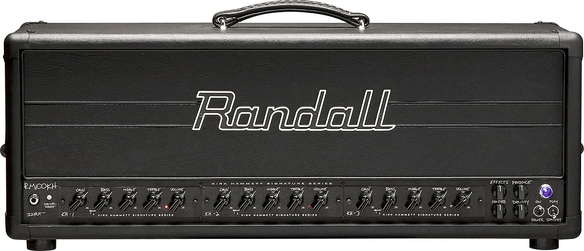 Randall Rm100kh Kirk Hammett Signature Amp Head Vinyl