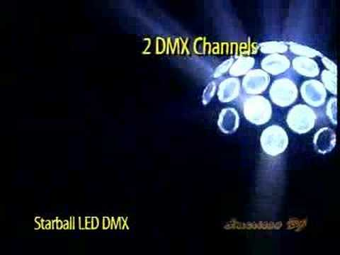 American DJ Starball LED DMX Demo Video