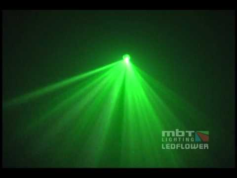 MBT Lighting LEDFLOWER Moonflower Lighting Effect - Demo Video